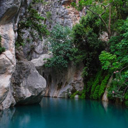 Goynuk Canyon Park, Nikon D40X, AF-S DX VR Zoom-Nikkor 18-55mm f/3.5-5.6G