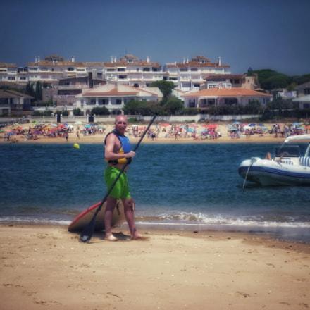 In the beach, Panasonic DMC-S1