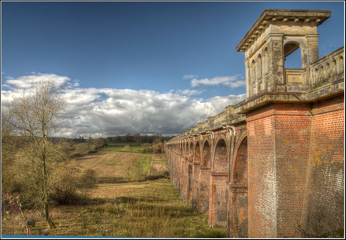 Photograph Ouse Valley Viaduct... by Adrian Backshall on 500px