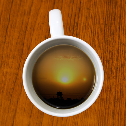 sunrise in a cup, Canon EOS 3000D