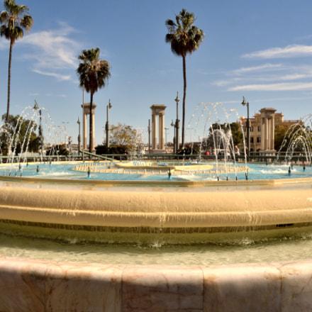 Plaza de la Marina, Nikon D7000, Sigma 18-125mm F3.5-5.6 DC
