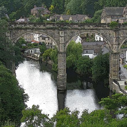 Bridge near York, England, Canon POWERSHOT A720 IS