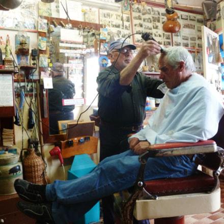 I'm a barber, Panasonic DMC-TZ18