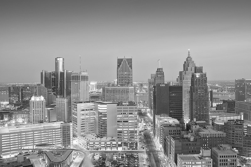 Photograph Detroit: Chrome City by Brian Day on 500px
