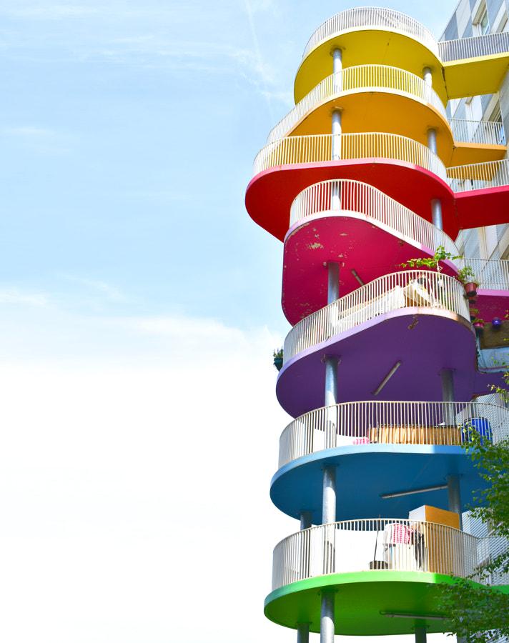 Balconies of Paris by Ash Camas on 500px.com