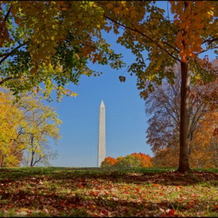 Washington Monument - Fall, Sony NEX-5N, Sony E 18-55mm F3.5-5.6 OSS
