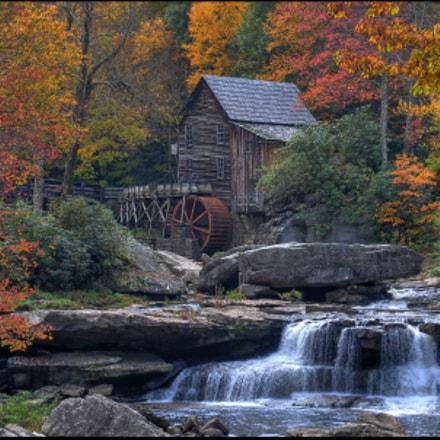 Glade Grist Mill, Nikon D700, AF-S VR Zoom-Nikkor 24-120mm f/3.5-5.6G IF-ED