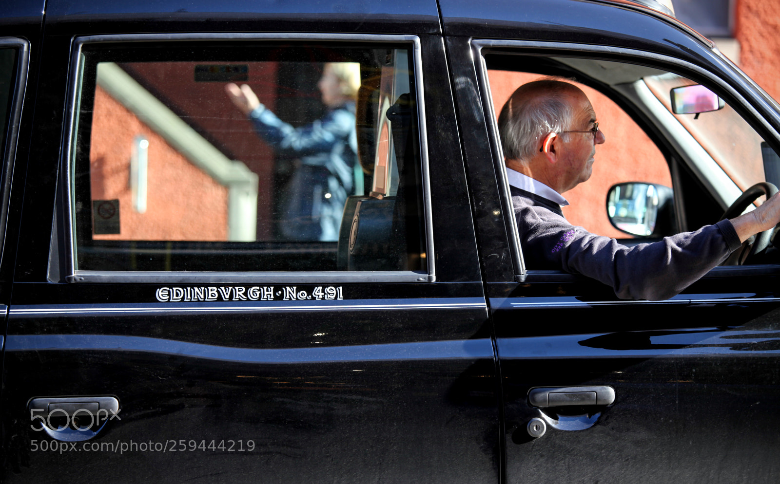 Edinburg cab, Canon EOS 5D MARK II, Canon EF 70-200mm f/4L IS