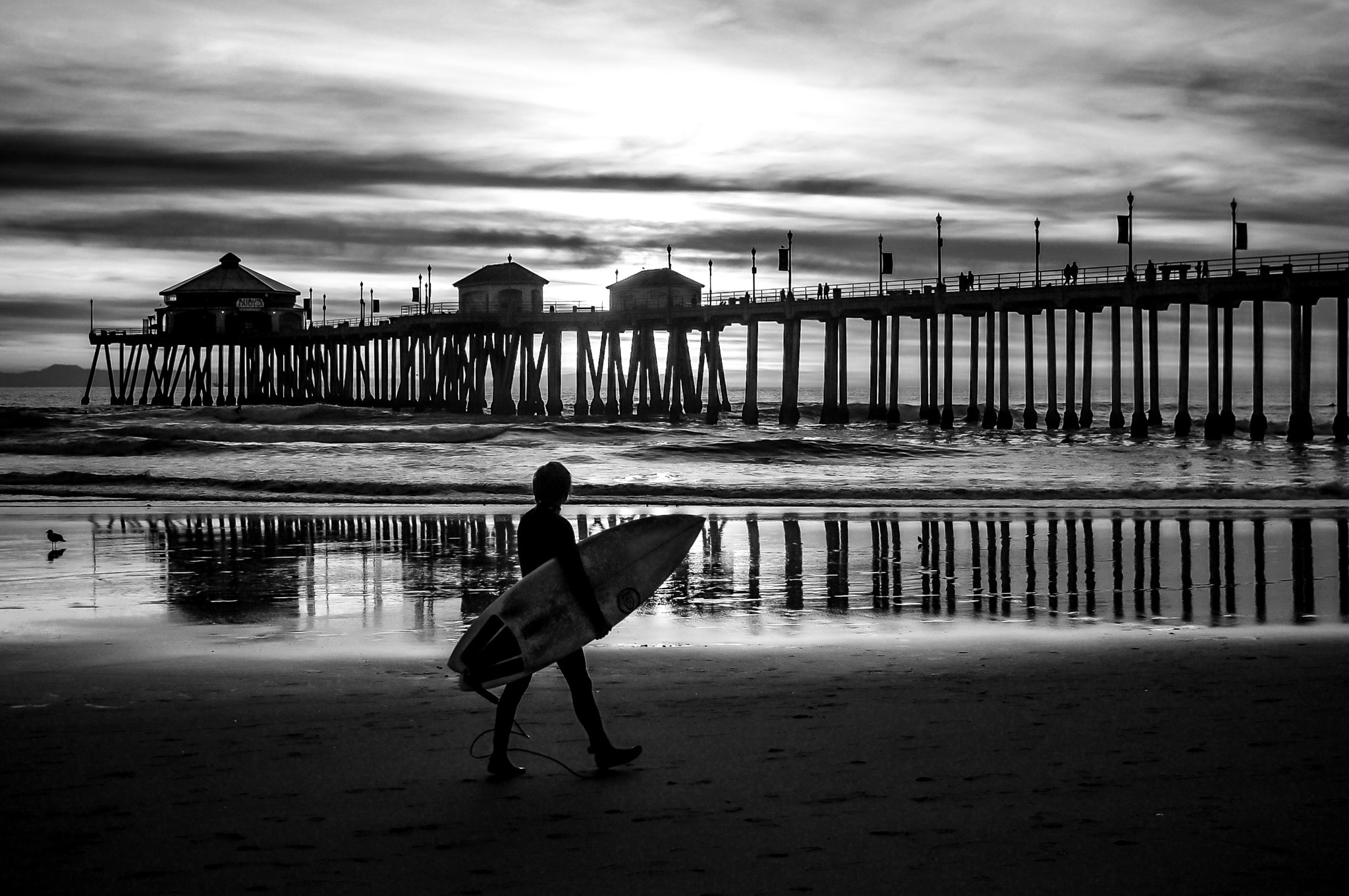 Photograph B&W Surf by Mike Edwards on 500px