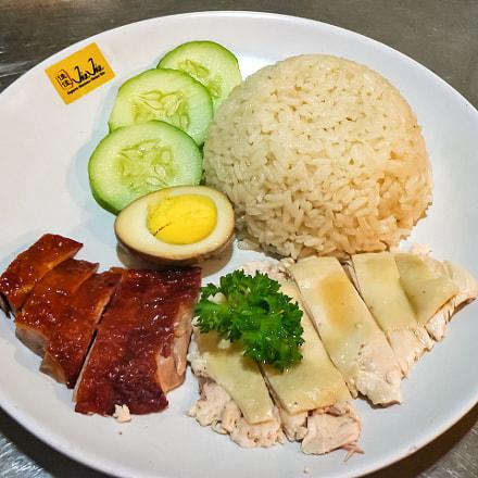Hainanese chicken rice and, Panasonic DMC-FZ5