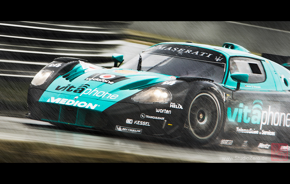 Photograph Maserati MC12 GT1 - Vitaphone Racing Team by Shurazero Hide Ishiura /  StudioZero.de on 500px