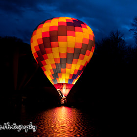 Hot Air Balloon by Gil Sears (gsears)) on 500px.com