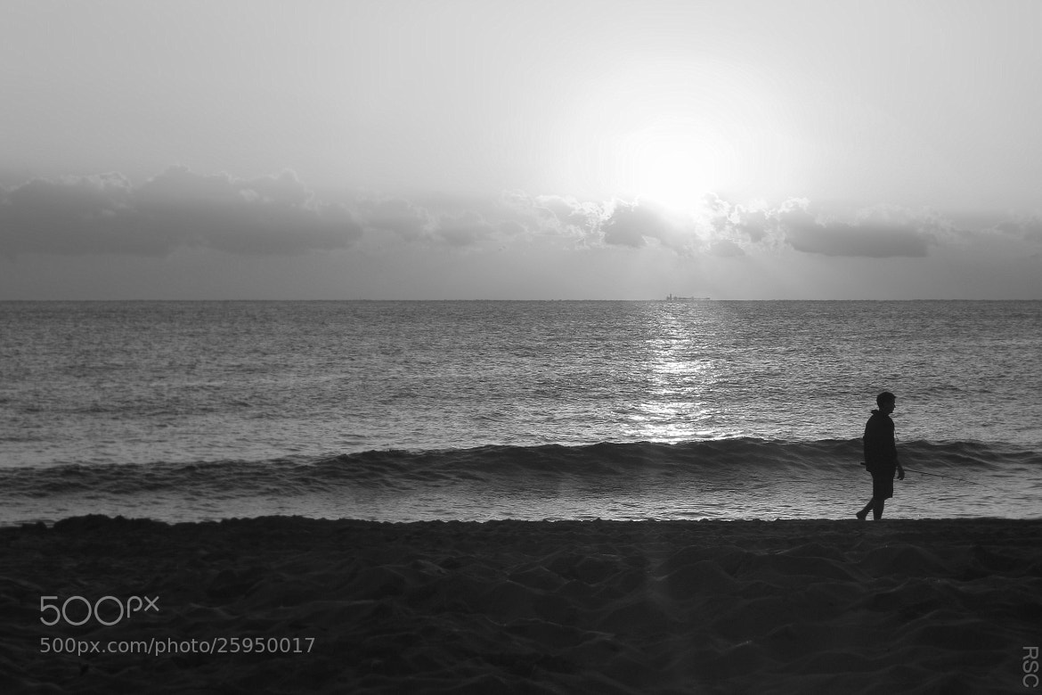 Photograph Sunrise Fort Lauderdale Black and White 2013 by Robin Sing-Cunningham on 500px