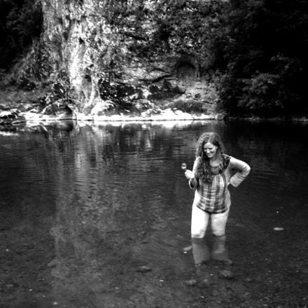 Frau im Fluß, Panasonic DMC-LC70