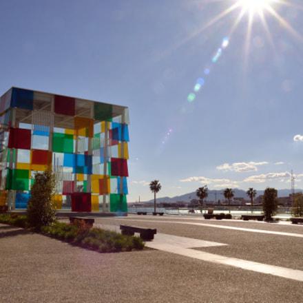 Centre Pompidou Málaga, Nikon D7000