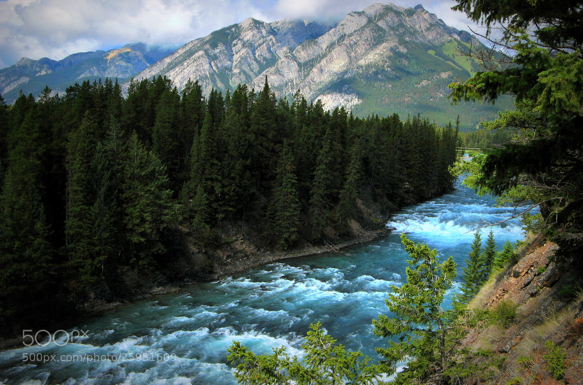 Photograph Bow river in Banff by CAN4 on 500px