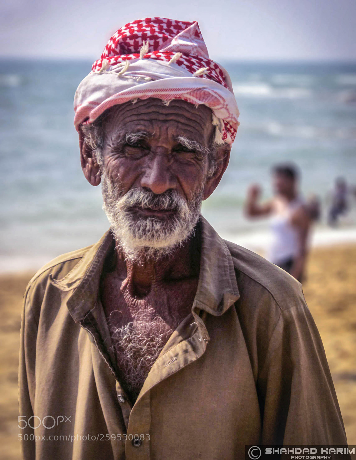 Portrait of a Fisherman, Canon IXY 30S