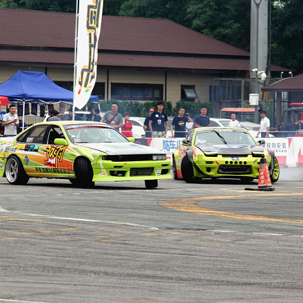 Drift competition, Canon EOS 60D, Canon EF-S 18-135mm f/3.5-5.6 IS