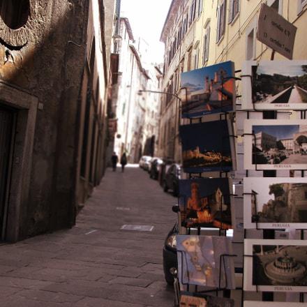 Perugia - Via Ulisse, Fujifilm FinePix S5500