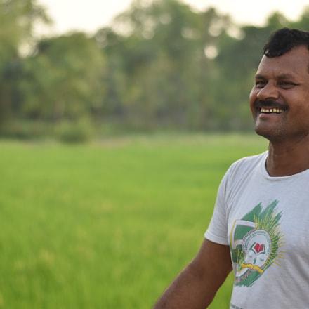 farmer's smile.JPG, Nikon D5500, AF-S Nikkor 50mm f/1.8G
