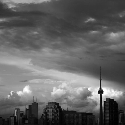 CN Tower, Canon EOS REBEL T5I, Canon EF 28-105mm f/3.5-4.5 USM