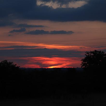 sunset, Canon EOS 800D, Canon TS-E 90mm f/2.8