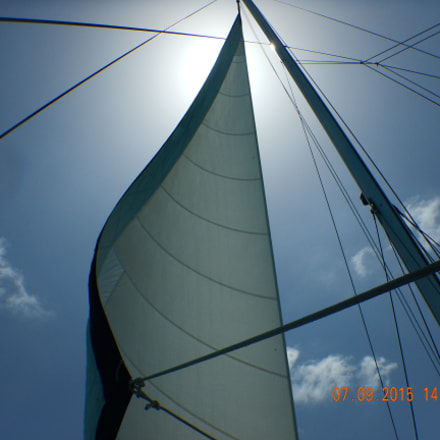 Sailboat, sail,, Nikon COOLPIX AW120