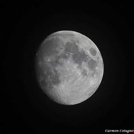 My Moon, Canon EOS 80D, Canon EF-S 55-250mm f/4-5.6 IS STM