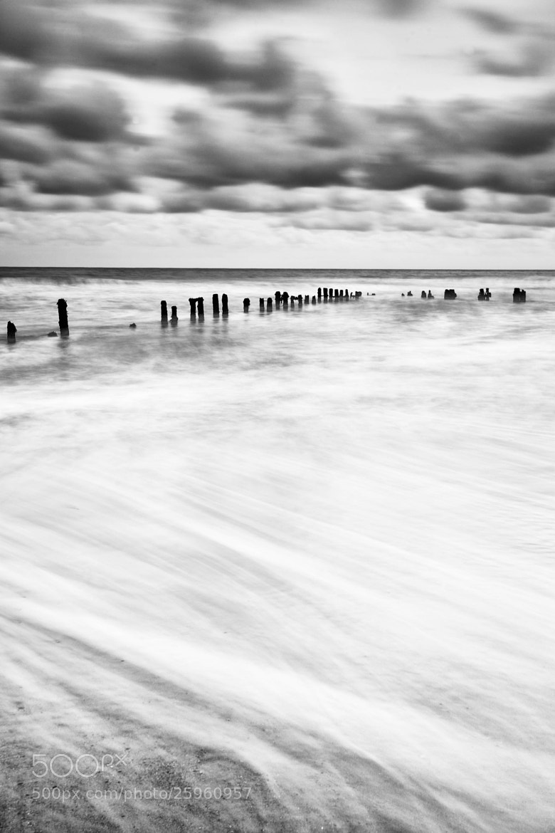 Photograph Sandsend Mono Tide  by Carl Mickleburgh on 500px