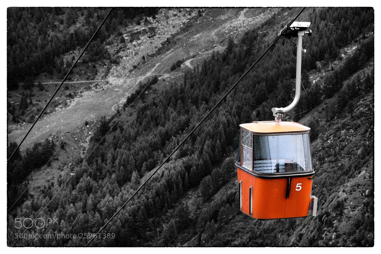 Photograph Spielboden gondola-lift  by Sven Sauerland on 500px