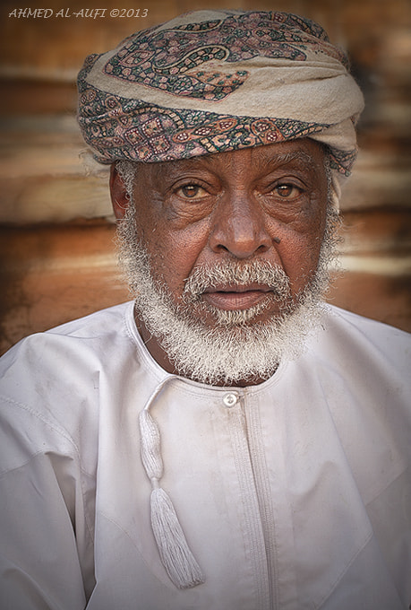 Photograph Omani old man by AHMED AL-AUFI on 500px