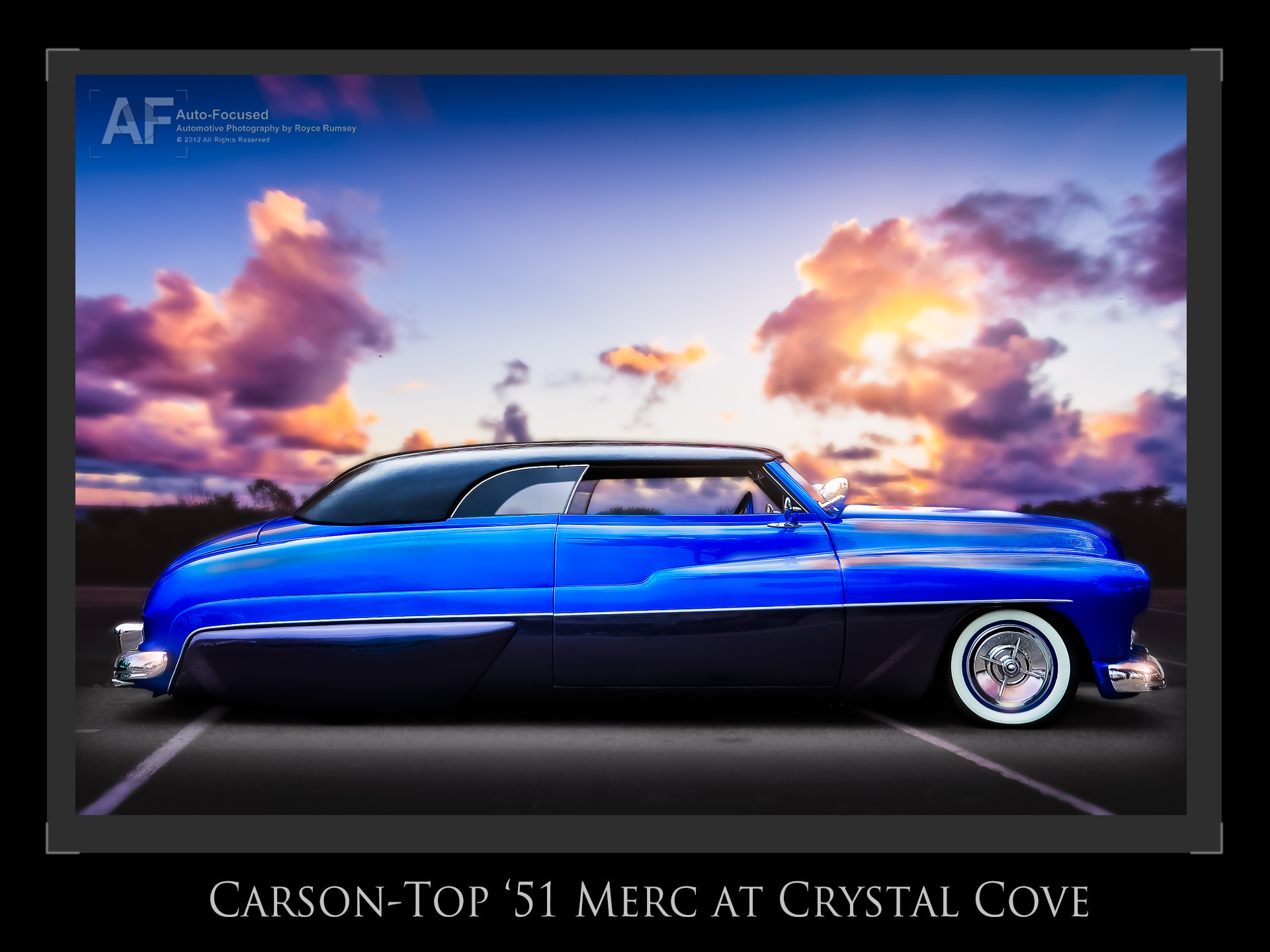 """Photograph """"Carson""""-Top '51 Merc at Crystal Cove by Royce Rumsey on 500px"""