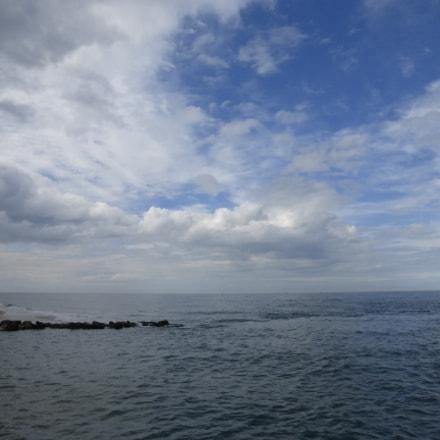 Sea at Juno Beach, Panasonic DMC-TZ36