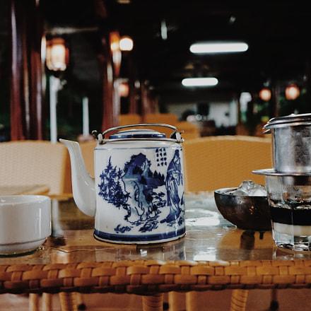 Street coffee, Sony ILCE-6000, Sony E 20mm F2.8