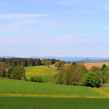 Hessen in Germany, Canon EOS 600D, Canon EF-S 55-250mm f/4-5.6 IS STM