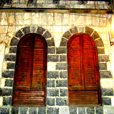 antique windows ♥, Canon IXUS 220HS