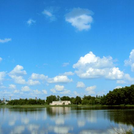 The lake, Sony DSC-W180