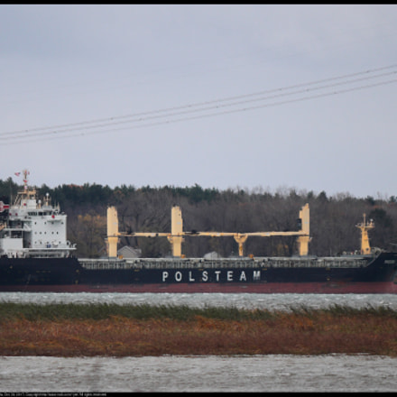 Saint Lawrence Seaway, Canon EOS REBEL T1I, Canon EF-S 55-250mm f/4-5.6 IS