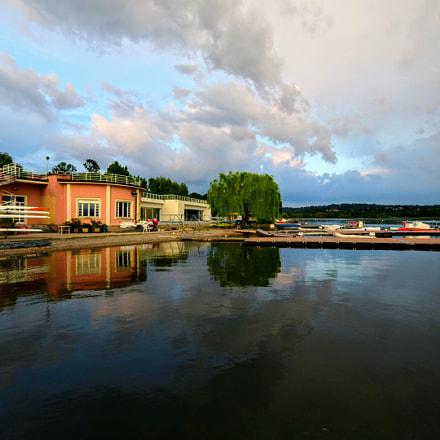 Sunset on Varese Lake, Nikon D5300, AF-S DX Nikkor 10-24mm f/3.5-4.5G ED