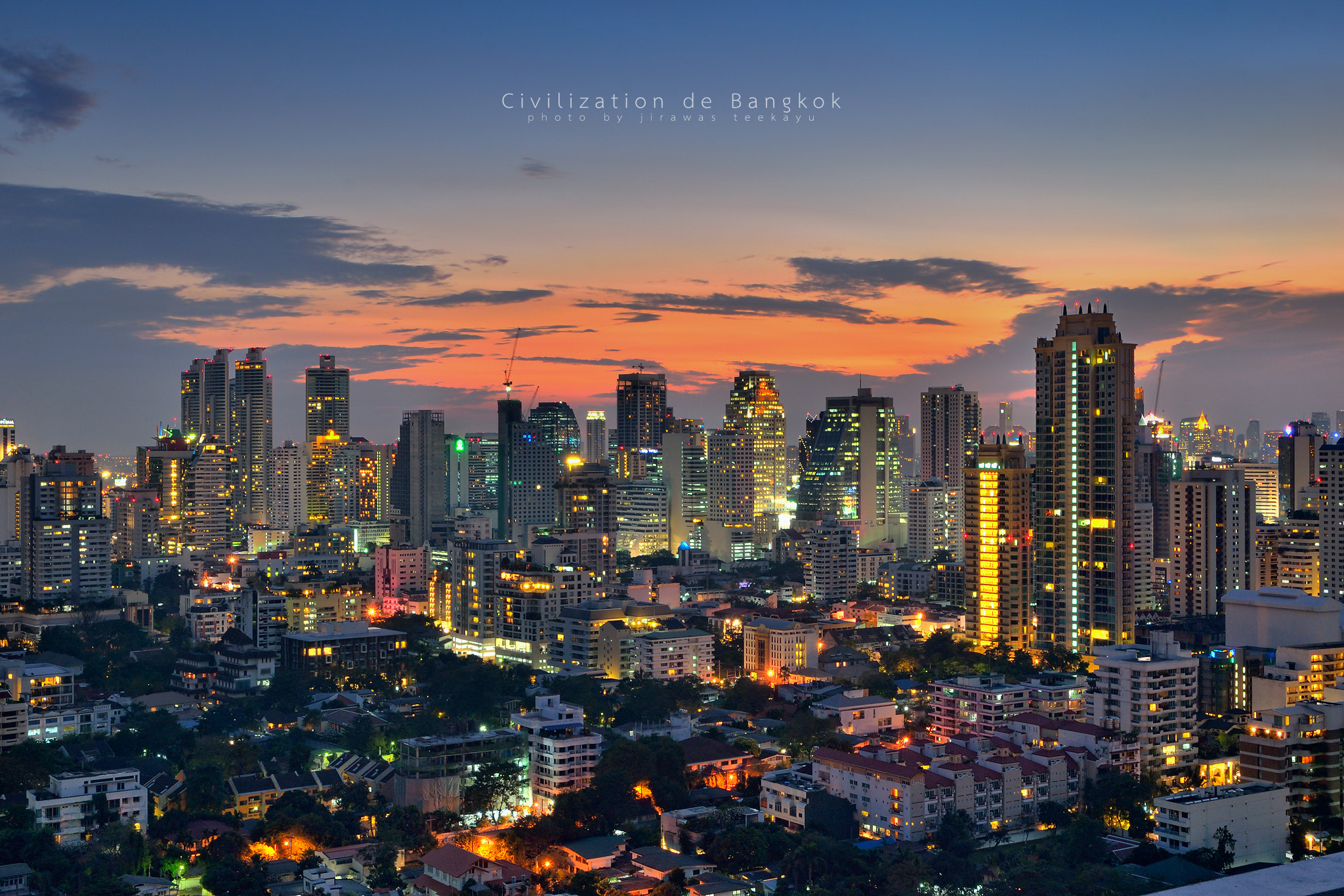 Photograph Civilization de Bangkok by Jirawas Teekayu on 500px