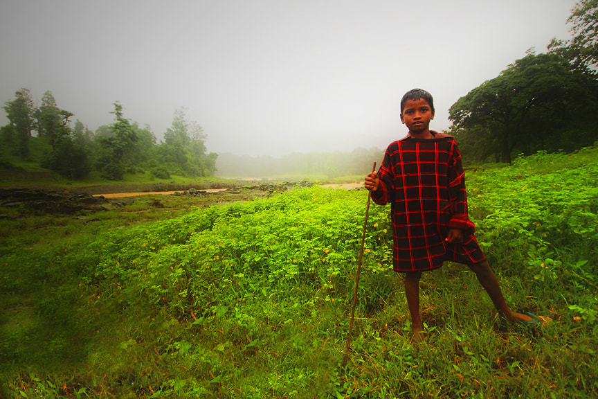 Photograph A Boy from the Forests of India by Saurabh Desai on 500px