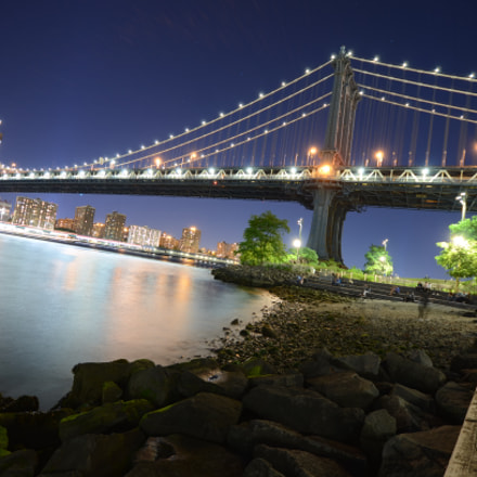 Manhattan Bridge, Nikon D7000, Sigma 10-20mm F4-5.6 EX DC HSM
