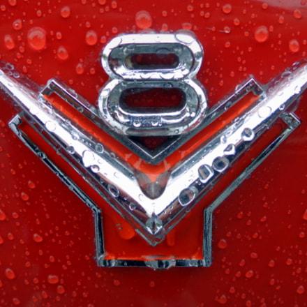 V8 Emblem, Sony DSC-H90
