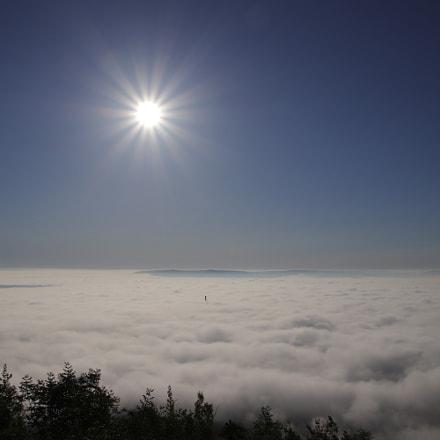 Sea of fog, Canon EOS 800D, Canon TS-E 90mm f/2.8