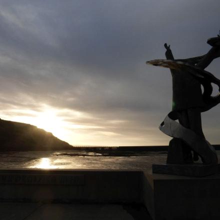 Port-en-Bessin statue (1), Panasonic DMC-TZ36