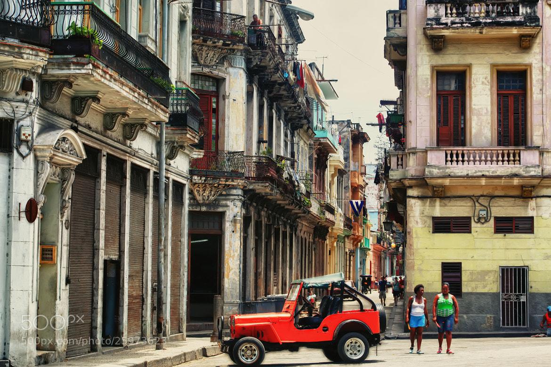 Photograph Havana Streets by Yana Bukharova on 500px