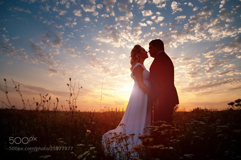 Photograph Wedding on sunset 1 by Oleksandr Yakonyuk on 500px