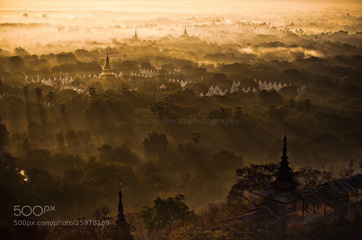 Photograph Morning Pagoda , Mandalay Hill by joeziz Ekkachai on 500px