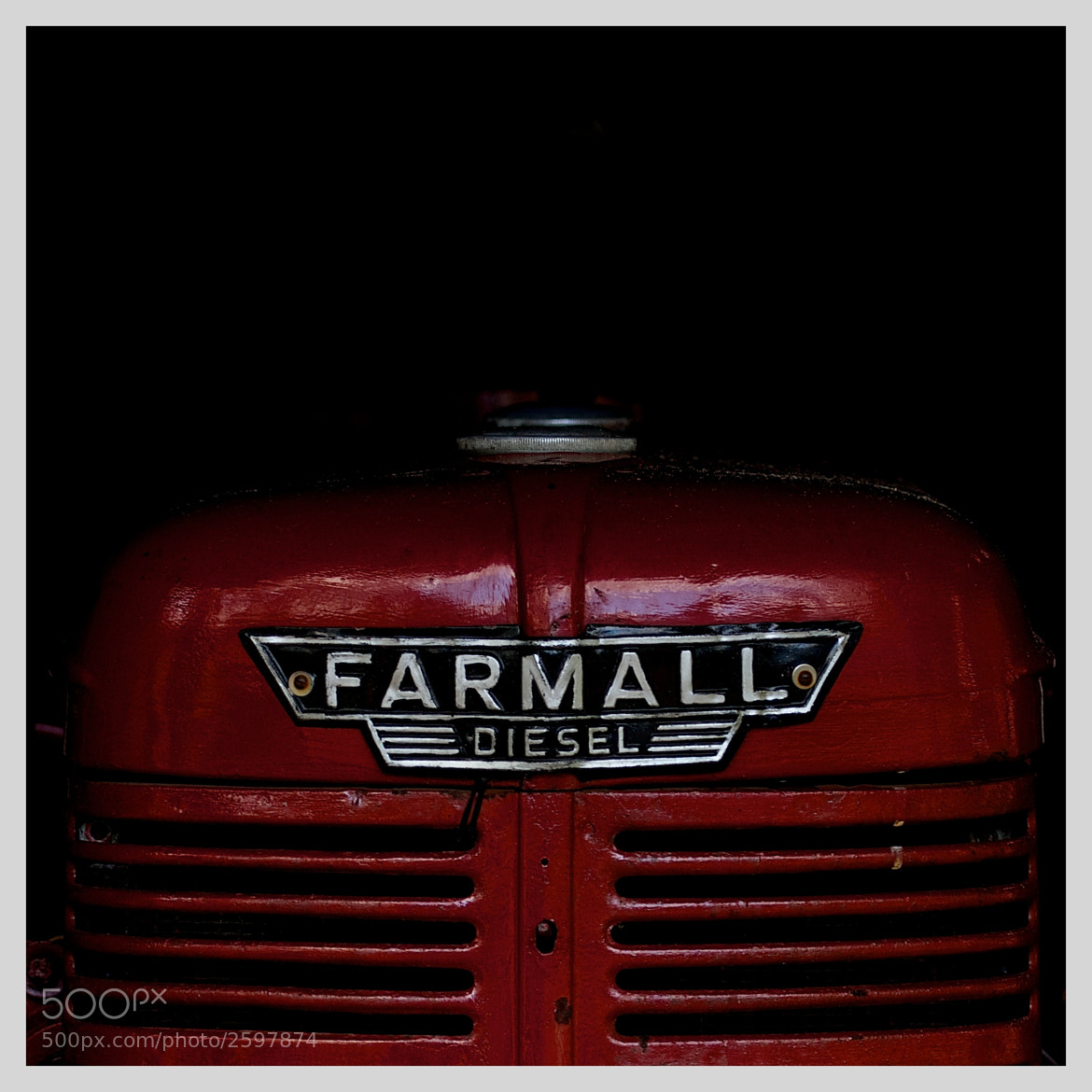 Photograph The Red Tractor by Martijn Akse on 500px