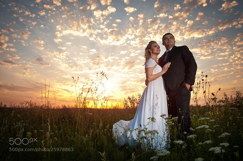 Photograph Wedding on sunset by Oleksandr Yakonyuk on 500px